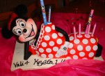 Minnie Mouse dort